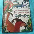 Mon grand livre illustré : les dinosaures usborne éditions