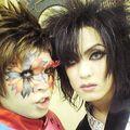 Backstage Picture. With Danchou from NoGod. Hyakki Yagyou Era.