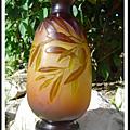 Vase en pâte de verre de Gallé
