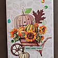 Passion cartes <b>créatives</b> - La saison des citrouilles