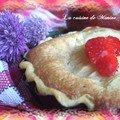 Invention gourmande : tartelettes poires-pâte d'amande