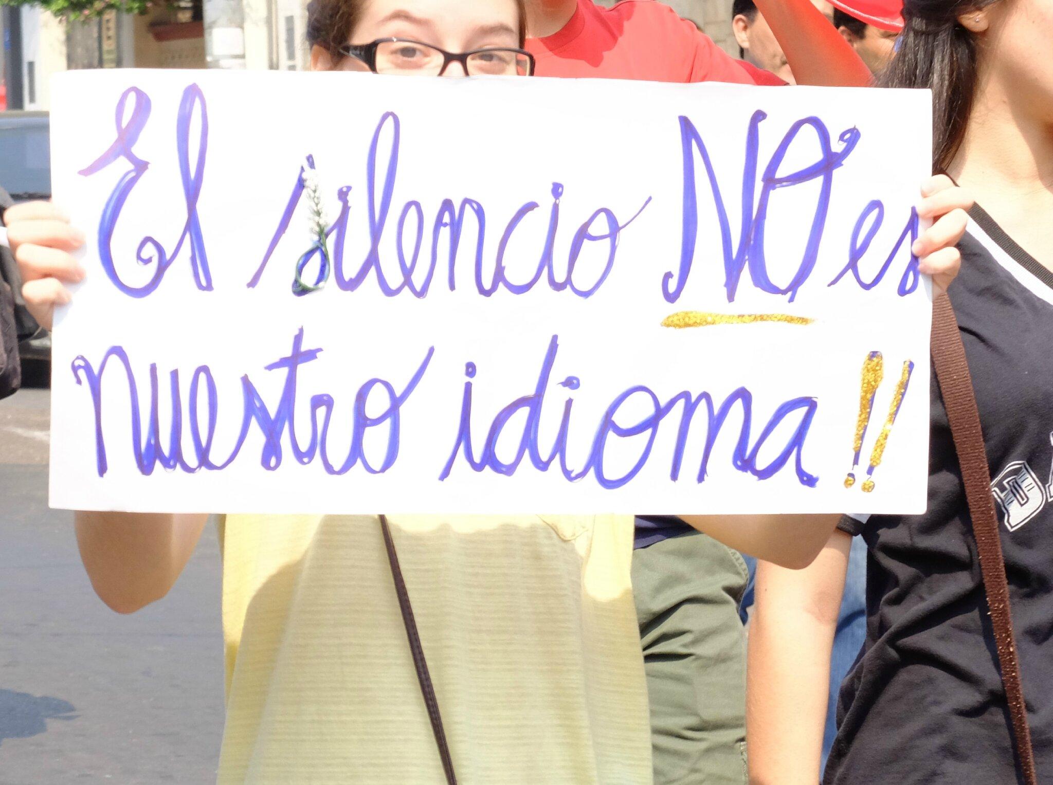 17 - Le silence n'est pas notre langue