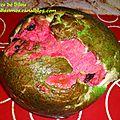 Pasteque brioche au mascarpone
