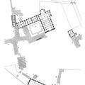 Abbaye de Maubuisson - plan de l'abbaye cistercienne - extrait du Dictionnaire raisonné de l'Architecture XI-XVIe siècles, par Viollet-le-Duc - (source : chateau.rochefort.free.fr)