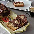 Cake marbré vanille, chocolat façon savane ® (les enfants en cuisine)