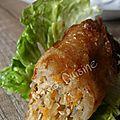 Nems au poulet... voyage en vietnam