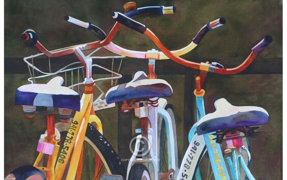bicycle Anne Agbott