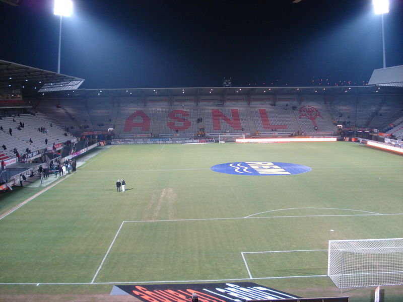 Tribune Piantoni- Stade Marcel Picot