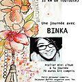 Une journée avec binka le samedi 30 juin 2018 complet