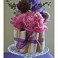 Petite création maison… bouquet charlotte aux fleurs!