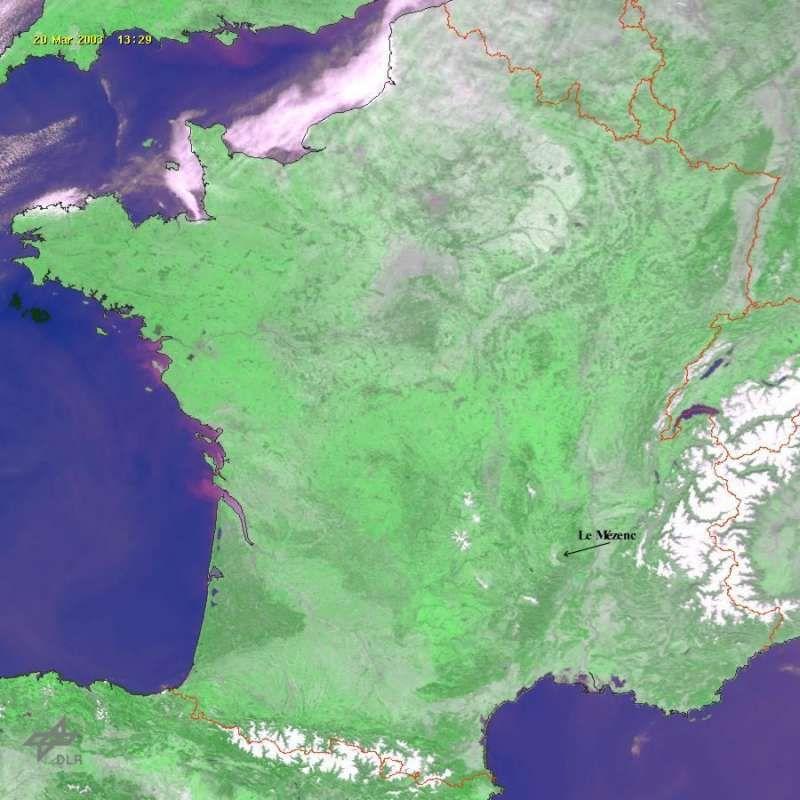 Localisation du Mezenc