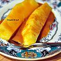 Ananas poêlé au caramel épicé