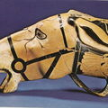 Céramique attique - Peintre de Brygos - 480 av JC - Rhyton à tête de mulet