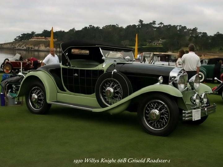 1930 - Willys Knight 66B Grisold Roadster-1