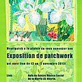 Exposition patchwork à meyrin / genève