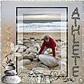 <b>Athlète</b> scrapbooking scrap digital