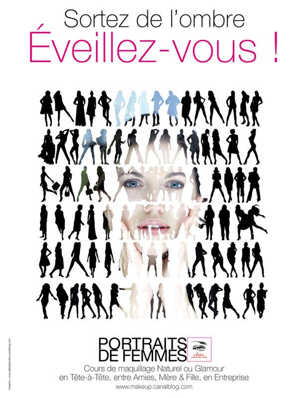 Campagne L'ÉVEIL AU MAQUILLAGE 2012- Création © Gilles Laburthe pour L'ÉVEIL AU MAQUILLAGE®