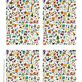 cartes joyeuses fêtes à imprimer1