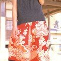 Jupe the skirts of japanese clothes