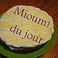 Gâteau éponge victoria au citron