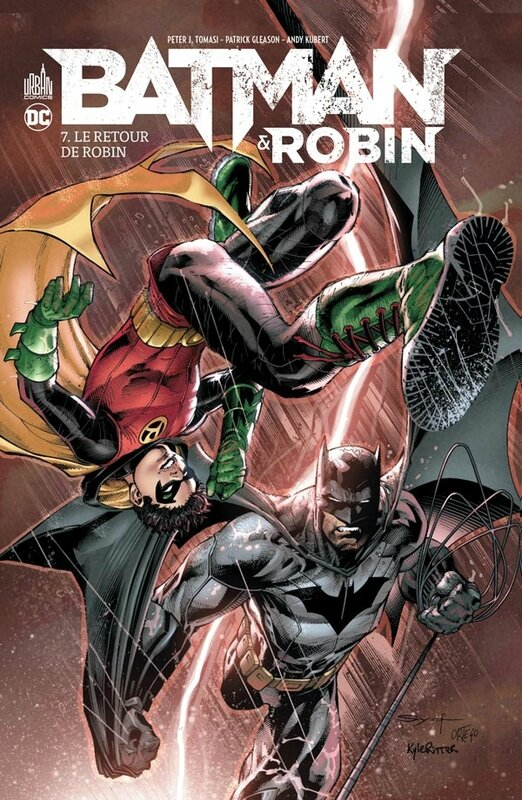 batman & robin 07 le retour de robin