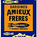 Un petit poisson d'avril... avec cette sardine facétieuse et peu ordinaire ! Un cadeau vintage de la marque Amieux !