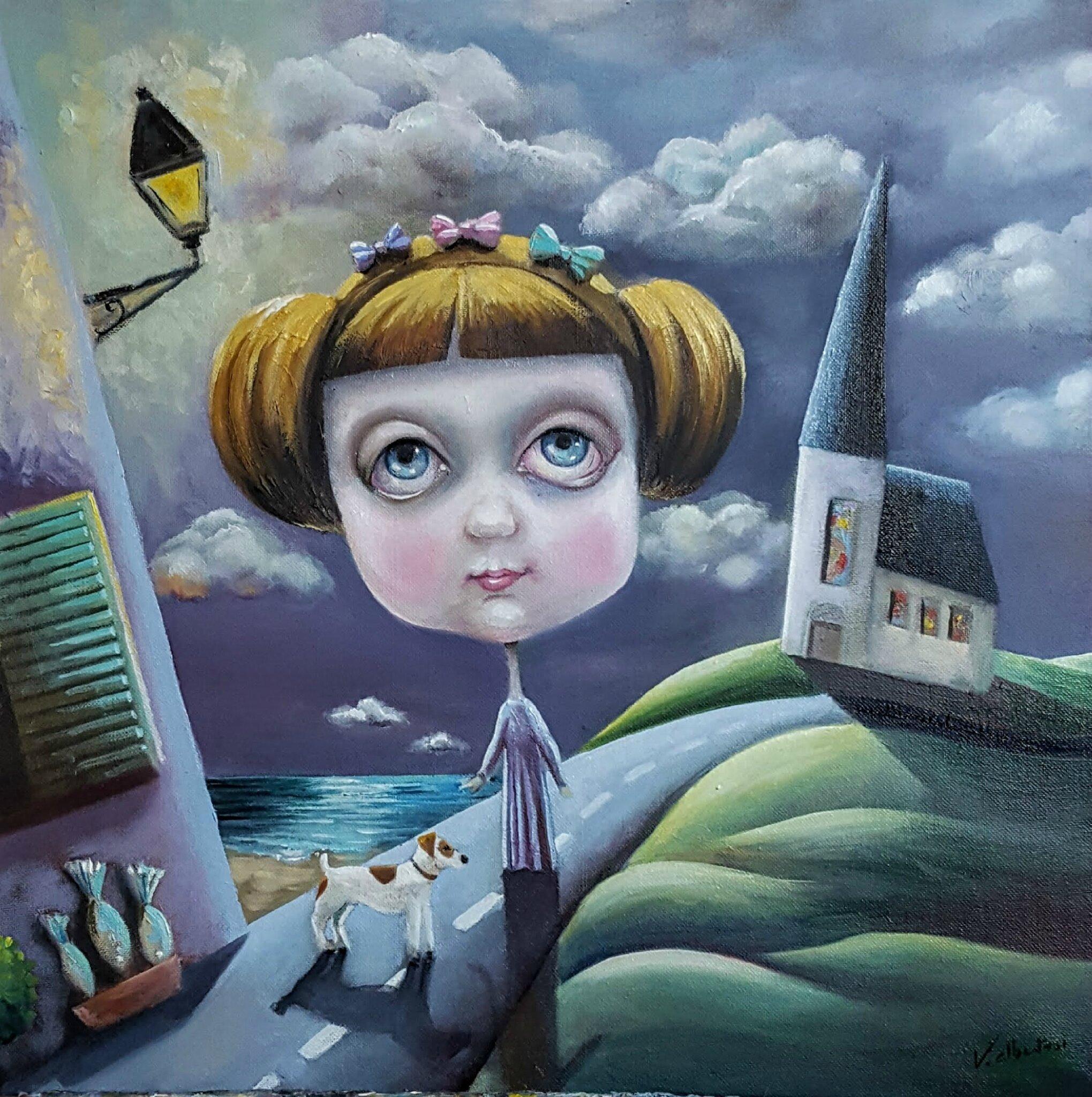 peinture valérie Albertosi