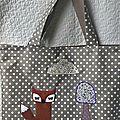 sac cabas renard 2