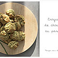 Croquettes gourmandes de chou-<b>fleur</b> au parmesan
