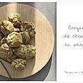 Croquettes gourmandes de <b>chou</b>-<b>fleur</b> au parmesan