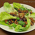 Salade de girolles aux <b>gésiers</b> <b>confits</b>