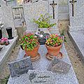114 - Tombe de la famille Garcin Albert