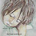 <b>watercolor</b> session - portrait 4