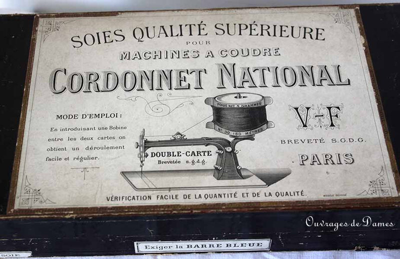 Cordonnet National étiquette