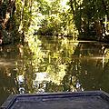 Balade en barque depuis l'<b>embarcadère</b> Port de Montfaucon, St Hilaire la Palud, Marais Poitevin, 5*/6*