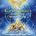 Les Chroniques du <b>Mont</b> - Entre mer et ciel - Parcours nocturne de l'abbaye du <b>Mont</b>-<b>Saint</b>-<b>Michel</b> - Du 4 juillet au 29 août 2020