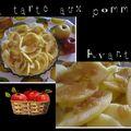 Une simple tarte aux pommes