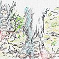 Le dieu cerf, d'après hayao miyazaki