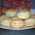 Macarons pistache- créme au citron