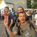 Les Ardentes Day 2Friday. Jijoux seb and defaze