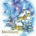 Cartes de Voeux Noel / Christmas cards