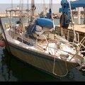 Kaptain Ulysse on the sea