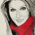Portraits de célébrités au crayon