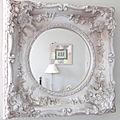 Encadrement : un très vieux miroir
