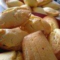 Les madeleines pâte d'amande d'izzie