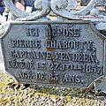 Nueil-les-Aubiers (79) – Tombe de Chabauty