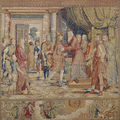 'The Loves of Mercury and Herse. A Tapestry Series by <b>Willem</b> de <b>Pannemaker</b>' @ Museo del Prado