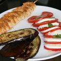 Brochette de crevettes ail et cumin