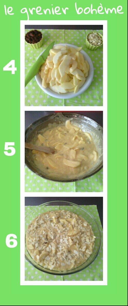 gâteau aux pommes 3