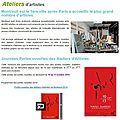 Portes ouvertes // ateliers d'artistes // montreuil 2014